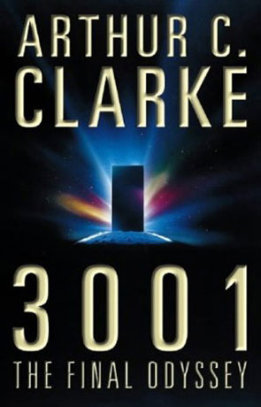 3001, a novel by Arthur C Clarke