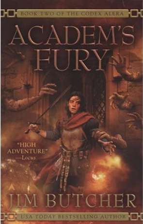 Academ's Fury, a novel by Jim Butcher