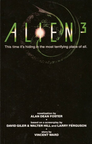 Alien 3, a novel by Alan Dean Foster