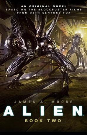Alien: Sea of Sorrows, a novel by James A Moore