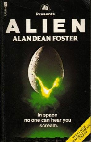 Alien, a novel by Alan Dean Foster