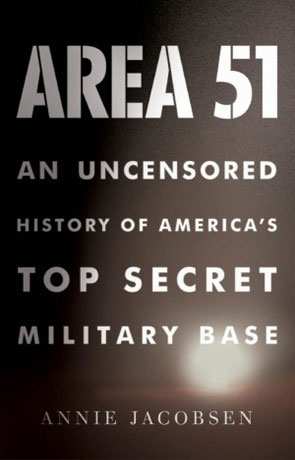 Area 51, a novel by Annie Jacobsen