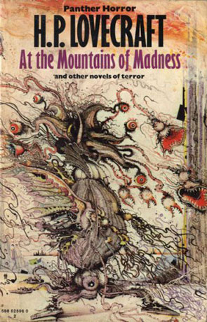 At the Mountains of Madness, a novel by HP Lovecraft