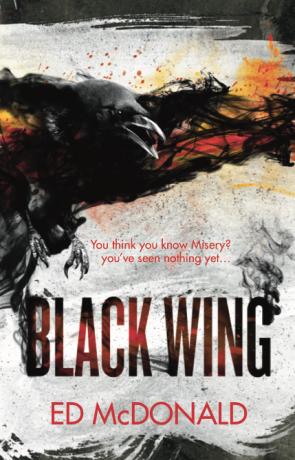 Blackwing, a novel by Ed McDonald