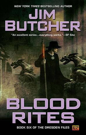 Blood Rites, a novel by Jim Butcher