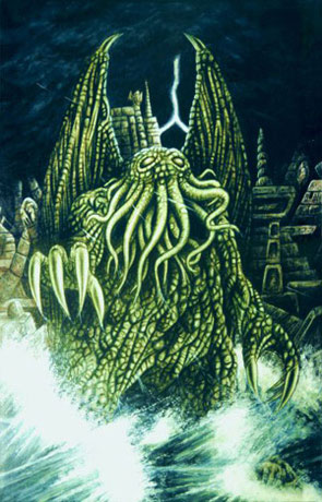 Call of Cthulhu, a novel by HP Lovecraft