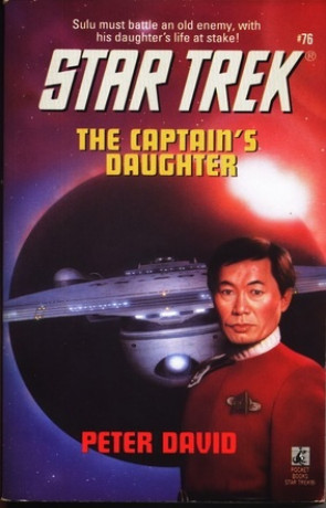 Captain's Daughter, a novel by Peter David