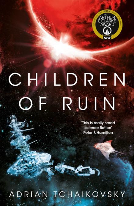Children of Ruin, a novel by Adrian Tchaikovsky
