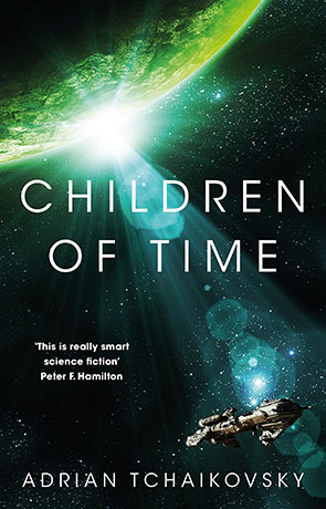 Children of Time, a novel by Adrian Tchaikovsky