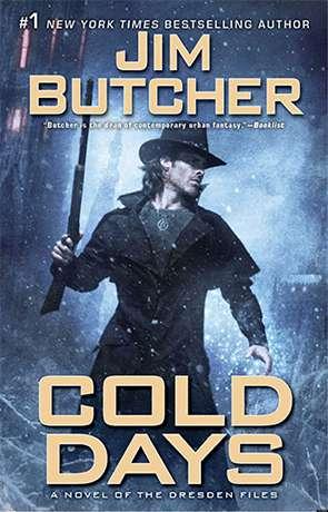Cold Days, a novel by Jim Butcher