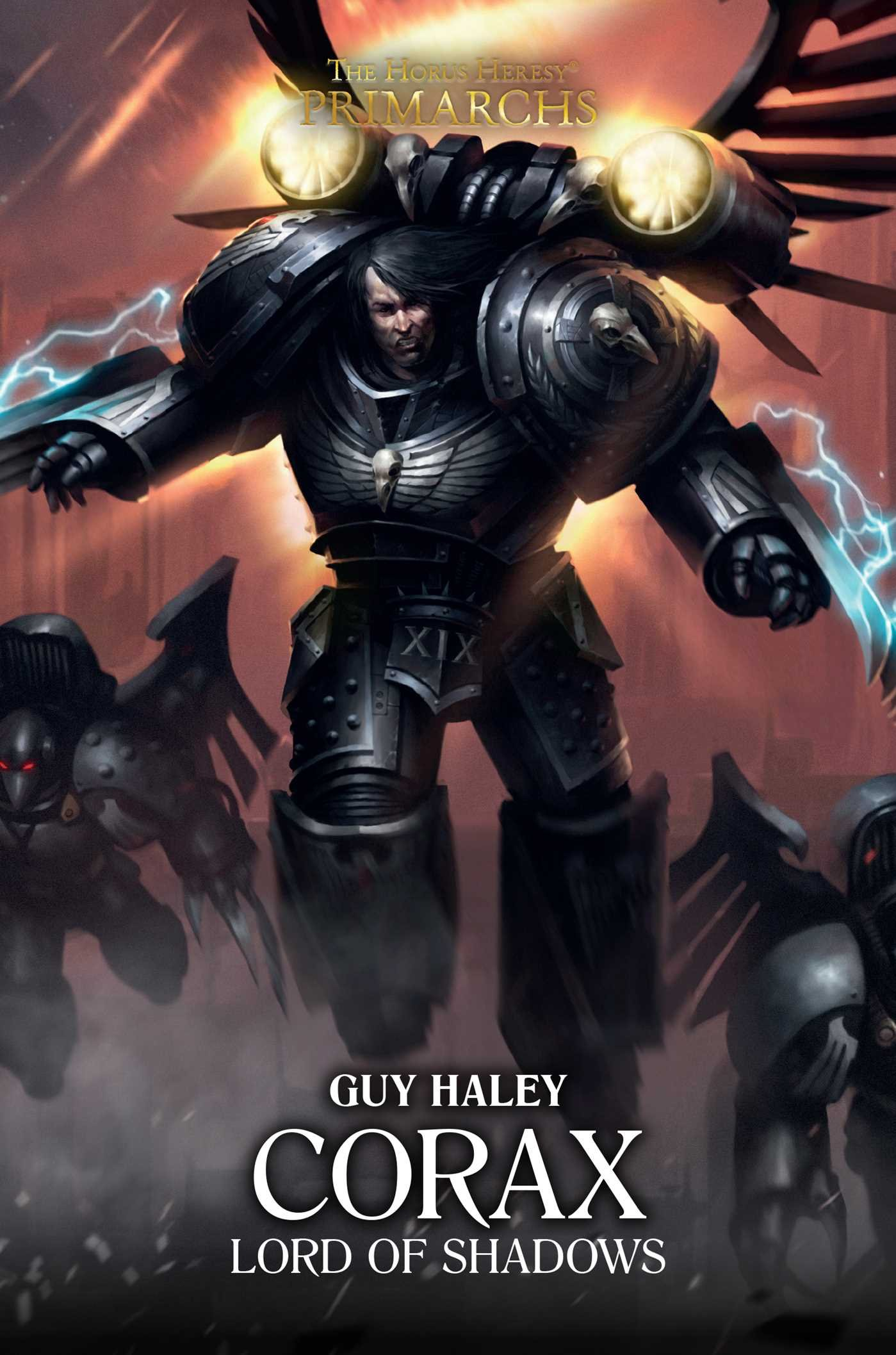Corax Lord of Shadows, a novel by Guy Haley