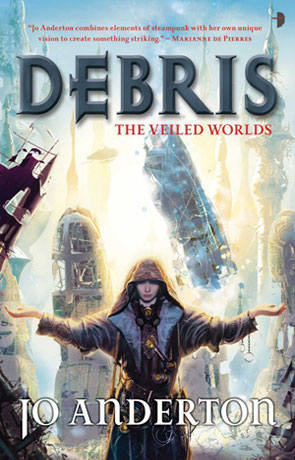 Debris, a novel by Jo Anderton