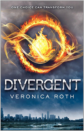 Divergent, a novel by Veronica Roth