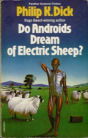 Do Androids Dream of Electric Sheep, a novel by Philip K Dick