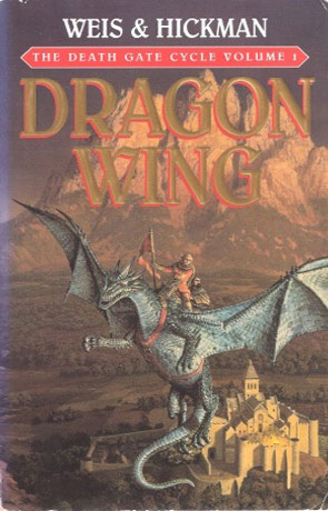 Dragon Wing, a novel by Weis and Hickman
