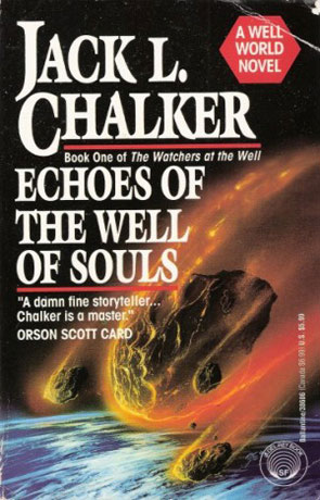 Echoes of the well of Souls, a novel by Jack L Chalker