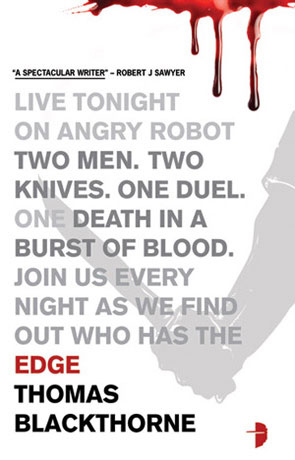 Edge, a novel by Thomas Blackthorne