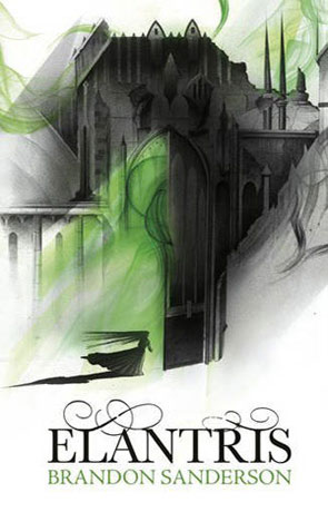 Elantris, a novel by Brandon Sanderson