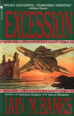 Excession, a novel by Iain M Banks