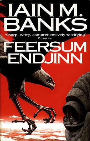 Feersum Endjinn, a novel by Iain M Banks