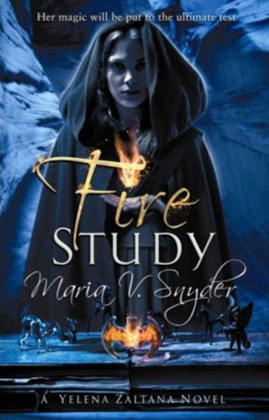 Fire Study, a novel by Maria V Snyder