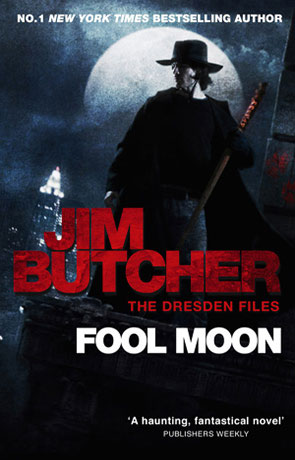 Fool Moon, a novel by Jim Butcher