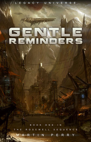 Gentle Reminders, a novel by Martin Perry