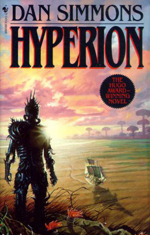 Hyperion, a novel by Dan Simmons