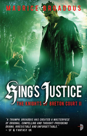 King's Justice, a novel by Maurice Broaddus
