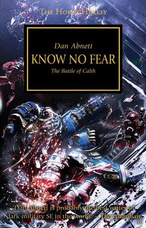 Know no Fear, a novel by Dan Abnett