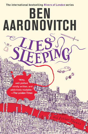 Lies Sleeping, a novel by Ben Aaronovitch