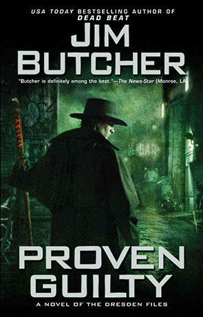 Proven Guilty, a novel by Jim Butcher