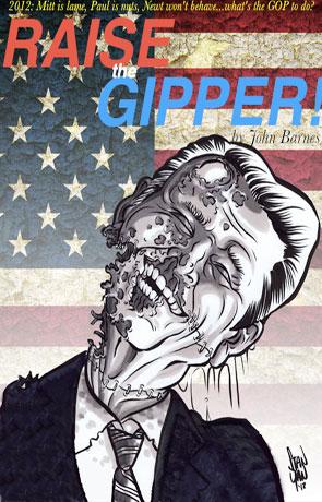 Raise the Gipper!, a novel by John Barnes
