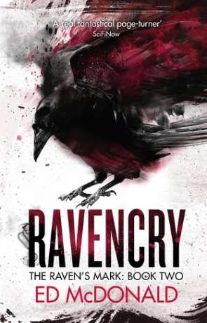 Ravencry, a novel by Ed McDonald