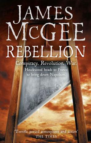 Rebellion, a novel by James McGee