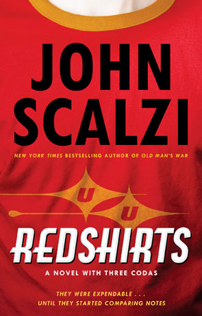 Redshirts, a novel by John Scalzi