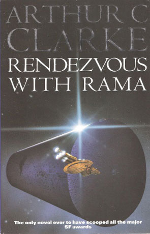 Rendezvous with Rama, a novel by Arthur C Clarke