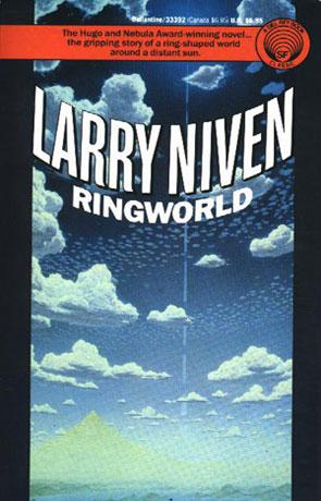 Ringworld, a novel by Larry Niven