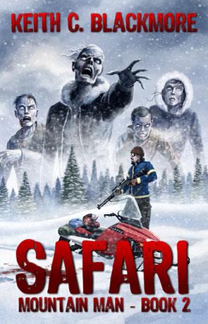 Safari, a novel by Keith Blackmore