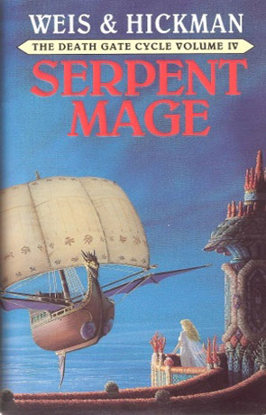 Serpent Mage, a novel by Weis and Hickman