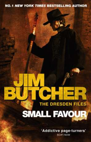 Small Favour, a novel by Jim Butcher