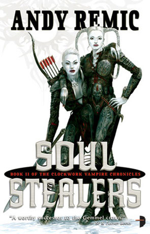 Soul Stealers, a novel by Andy Remic