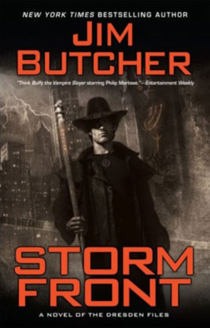 Storm Front, a novel by Jim Butcher