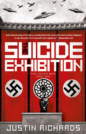 The Suicide Exhibition, a novel by Justin Richards