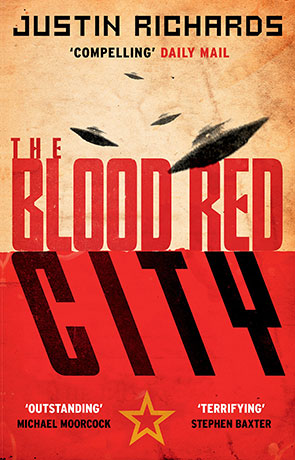 The Blood Red City, a novel by Justin Richards