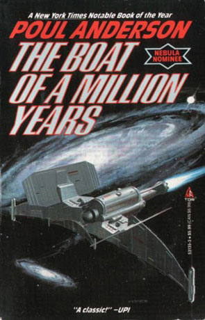 The Boat of a Million Years, a novel by Poul Anderson
