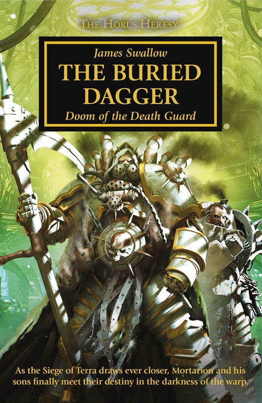 The Buried Dagger, a novel by James Swallow
