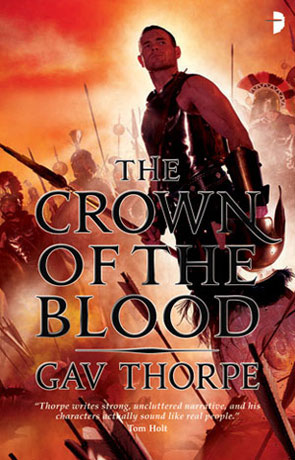 The Crown of the Blood, a novel by Gav Thorpe