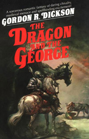 The Dragon and the George, a novel by Gordon R Dickson