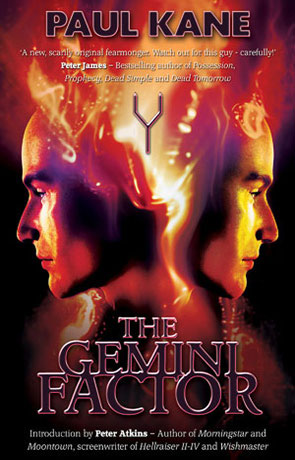 The Gemini Factor, a novel by Paul Kane